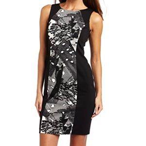 New Nine West Lace Print Collage Dress 6